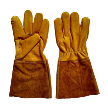 Golden Safety Cow Grain Leather TIG Welding Gloves
